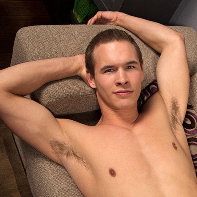 Handsome Dan Naked & Jerking Off | Daily Dudes @ Dude Dump