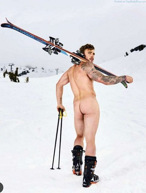 Handsome Skier Gus Kenworthy Gets His Butt Out | Daily Dudes @ Dude Dump