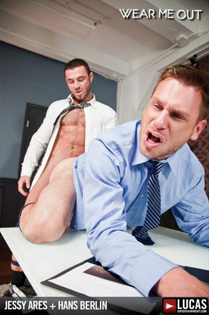 Hans Berlin Services Jessy Ares for a Raise | Daily Dudes @ Dude Dump