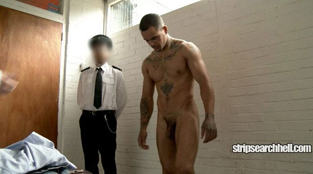 Hard man strip and forced revision in prison | Daily Dudes @ Dude Dump