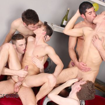 Hardcore gay twink orgy | Daily Dudes @ Dude Dump