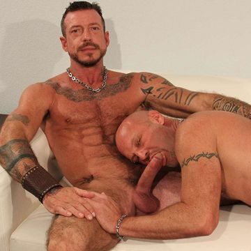 Hardcore Muscle Daddy Chad Brock Rides Ray Dalton | Daily Dudes @ Dude Dump
