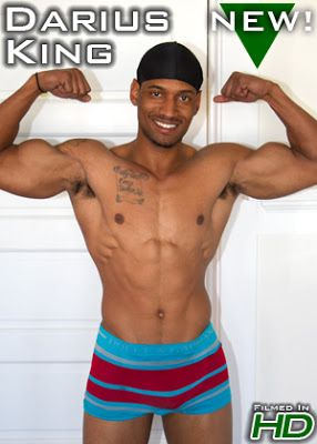 Horse-hung muscle stud Darius King | Daily Dudes @ Dude Dump