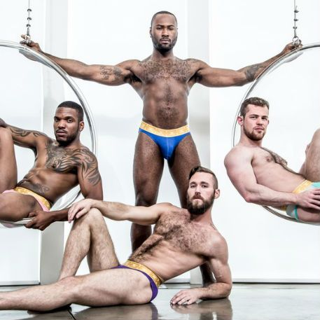 Hot foursome with Noah Donovan and Ziggy Banks | Daily Dudes @ Dude Dump