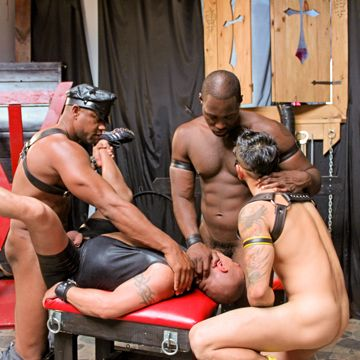Hot Gay Leather Porn With Lots Of Black Cock!   Daily Dudes @ Dude Dump