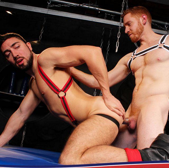 Hot Ginger Leander Drills Gaston Croupie | Daily Dudes @ Dude Dump