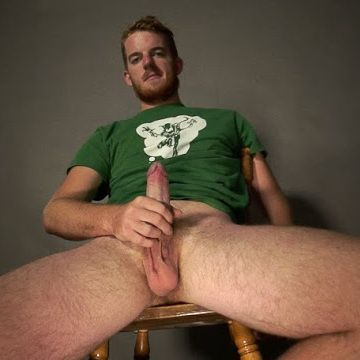 Hot hairy guy Zagner Wild jerks off | Daily Dudes @ Dude Dump