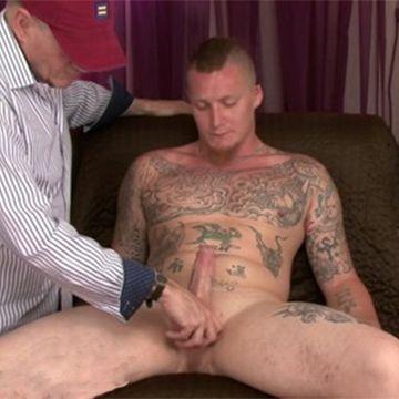 Hot Manly Str8 Stud Archie Serviced | Daily Dudes @ Dude Dump