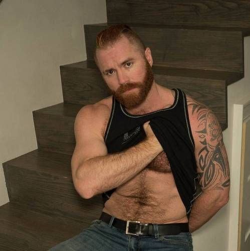 Hot Muscle Bear Zack Acland Strips Naked | Daily Dudes @ Dude Dump