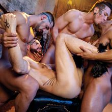 Hot Muscle Hunk Orgy from Falcon Studios! | Daily Dudes @ Dude Dump