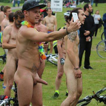 Hot pics from guys naked at the WNBR | Daily Dudes @ Dude Dump