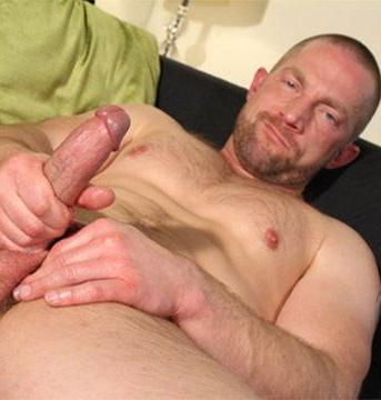Hot Rough Hairy Dad Adam Herst Spunks His Load | R | Daily Dudes @ Dude Dump