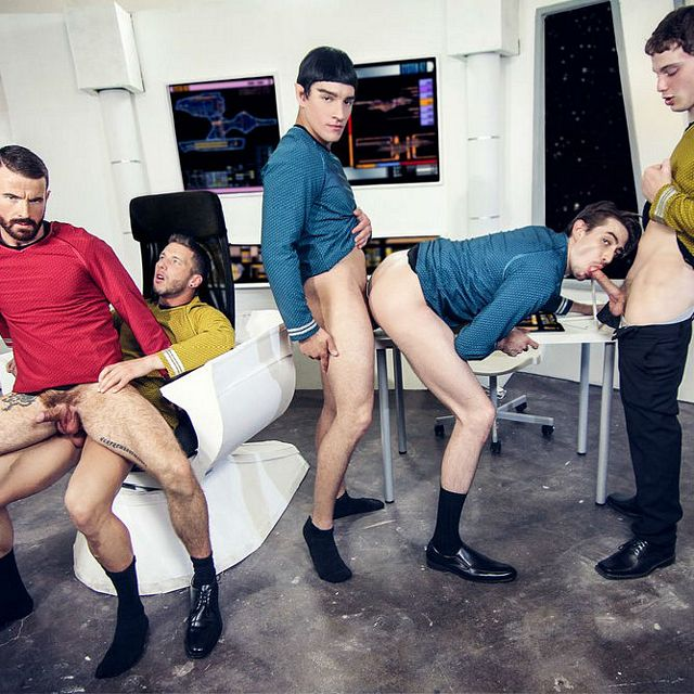 Hot space orgy | Daily Dudes @ Dude Dump