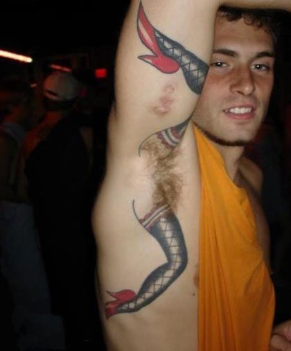 Hot Tattooed Guys With Hairy Armpits   Daily Dudes @ Dude Dump