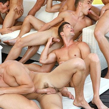 Hot Trailer From 24 Boys Orgy | Daily Dudes @ Dude Dump
