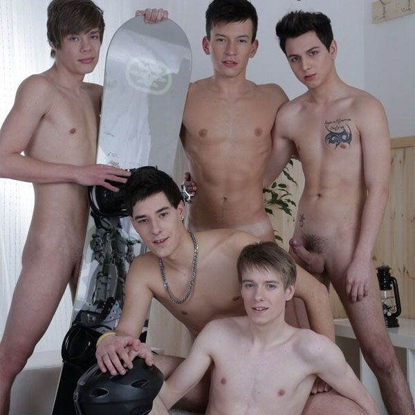 Hot twink boy orgy | Daily Dudes @ Dude Dump