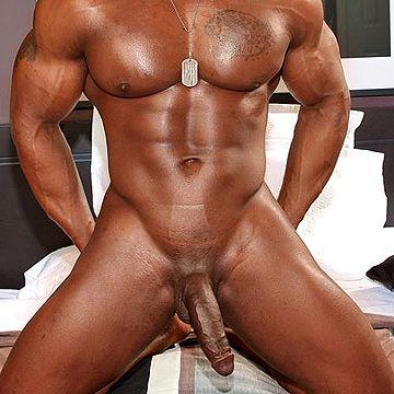 Hung Black Muscle Hunk | Daily Dudes @ Dude Dump