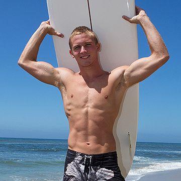 Hung Blond Surfer Boy | Daily Dudes @ Dude Dump