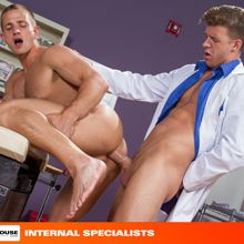 Hung gay porn star JJ Knight playing doctor | Daily Dudes @ Dude Dump