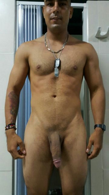 Hung marine showing his big cock | Daily Dudes @ Dude Dump