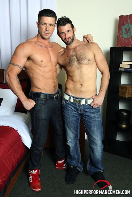 Hung Muscle Trenton Ducati Makes CJ Parker Squirt! | Daily Dudes @ Dude Dump