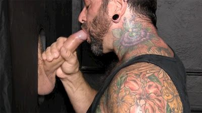 Hung, Uncut Straight Guy Blown At Glory Hole | Daily Dudes @ Dude Dump