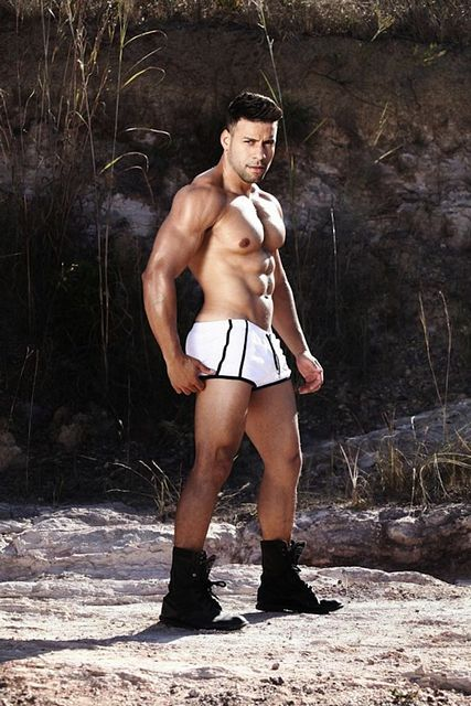 Hunky Body Builder Ricardo | Daily Dudes @ Dude Dump