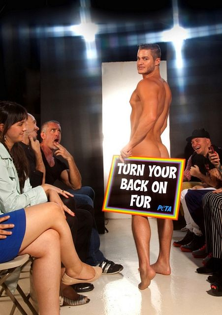 Hunky Men For PETA | Daily Dudes @ Dude Dump