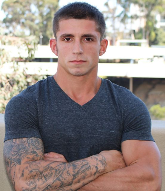 Hunky, shy rookie Kevin Daniels bust a nut! | Daily Dudes @ Dude Dump