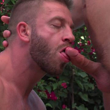 Hunter craves Colby's cock | Daily Dudes @ Dude Dump