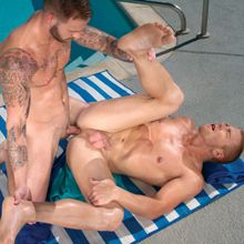 I would love to be between these two gay jocks! | Daily Dudes @ Dude Dump