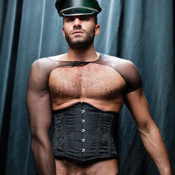 In stockings 'n' hung | Flesh 'n' Bone | Daily Dudes @ Dude Dump