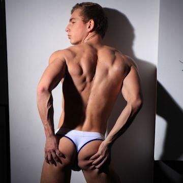 Ingo in a white thong | Daily Dudes @ Dude Dump