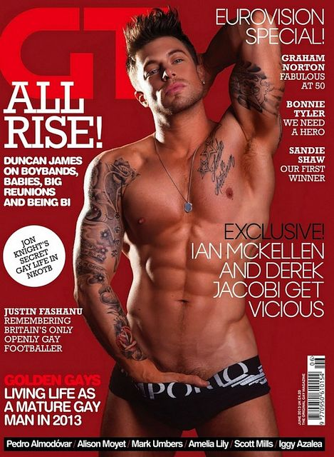 Inked Duncan James – Boy Band To Gay Icon? | Daily Dudes @ Dude Dump