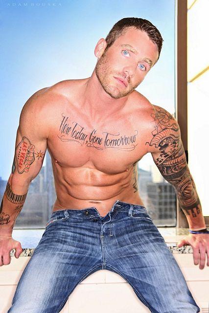 Inked Jock Model Jason D | Daily Dudes @ Dude Dump