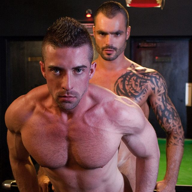 Issac Jones Fucks Scott Hunter in Gay Bar | Daily Dudes @ Dude Dump