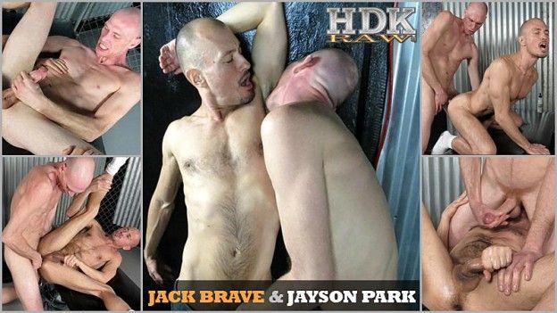 Jack Brave Barebacks Jayson Park   Daily Dudes @ Dude Dump