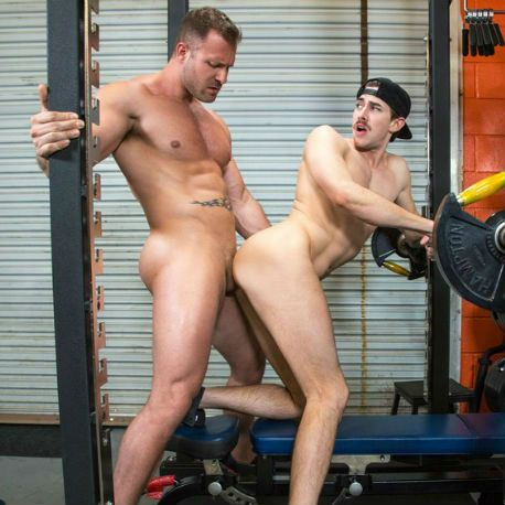 "Jack Hunter and Austin Wolf in ""Cross Fuck"" pa 