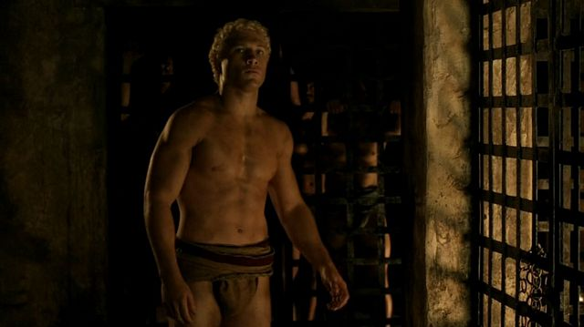 Jai Courtney from SPARTACUS | Daily Dudes @ Dude Dump
