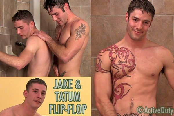 Jake and Tatum's Steamy Flip-Flop | Daily Dudes @ Dude Dump