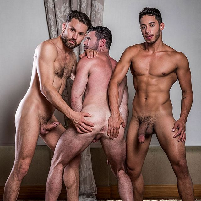 James, Drae and Billy fuck | Daily Dudes @ Dude Dump