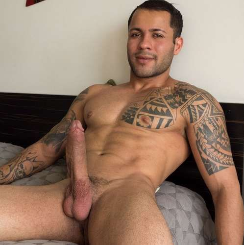 Jandro, Sexy Brazilian Jerks His Huge Dick | Daily Dudes @ Dude Dump