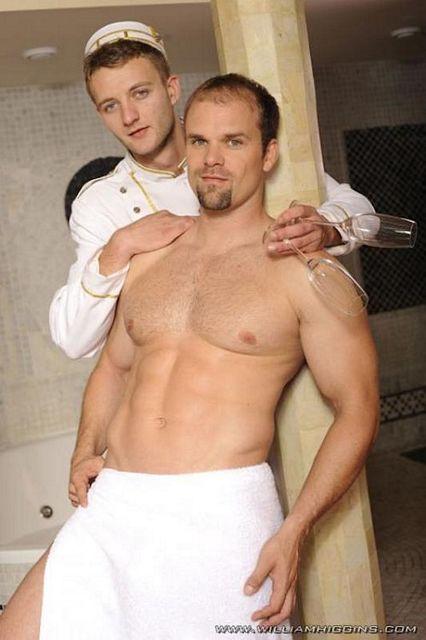 Jaro Grygar and uncut muscle bottom Mattias Solich | Daily Dudes @ Dude Dump