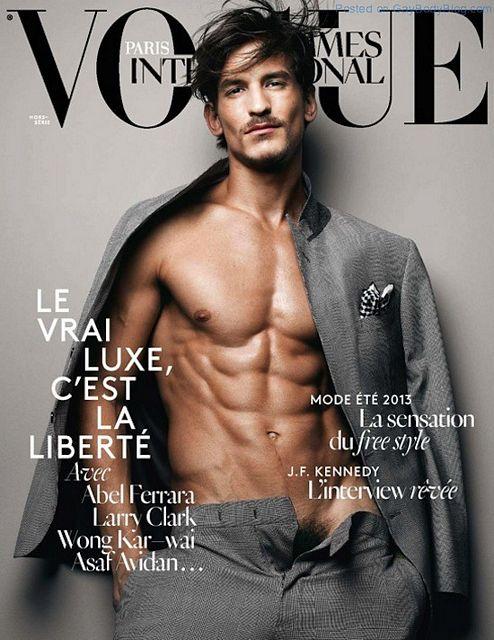 Jarrod Scott Naked For Vogue   Daily Dudes @ Dude Dump