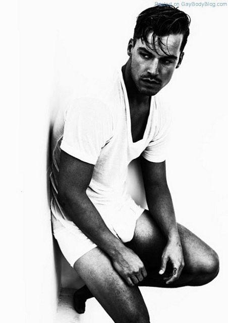 Jason Beitel In Black And White | Daily Dudes @ Dude Dump