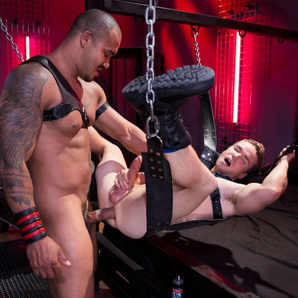 Jason Vario fucks his pup slave | Daily Dudes @ Dude Dump