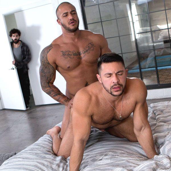 Jason Vario fucks Seth Santoro | Daily Dudes @ Dude Dump