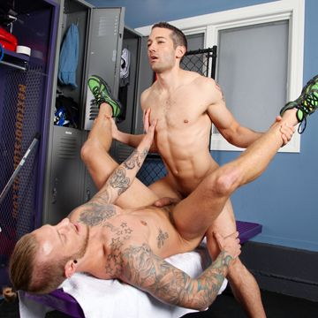 Jaxon Colt and Silas O'Hara in some great gay joc | Daily Dudes @ Dude Dump