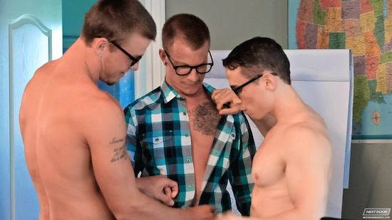 Jaxon Colt Gets A Lesson In Bottoming | Daily Dudes @ Dude Dump