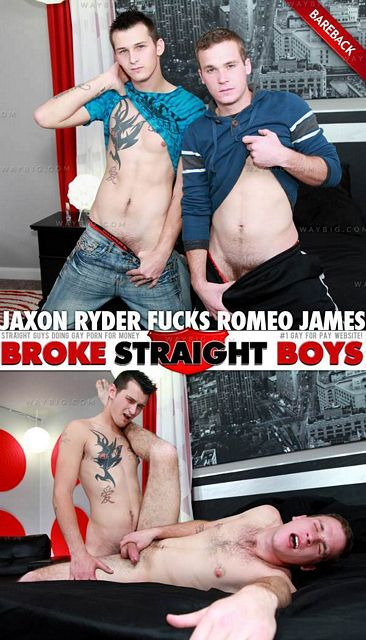 Jaxon Ryder and Romeo James | Daily Dudes @ Dude Dump